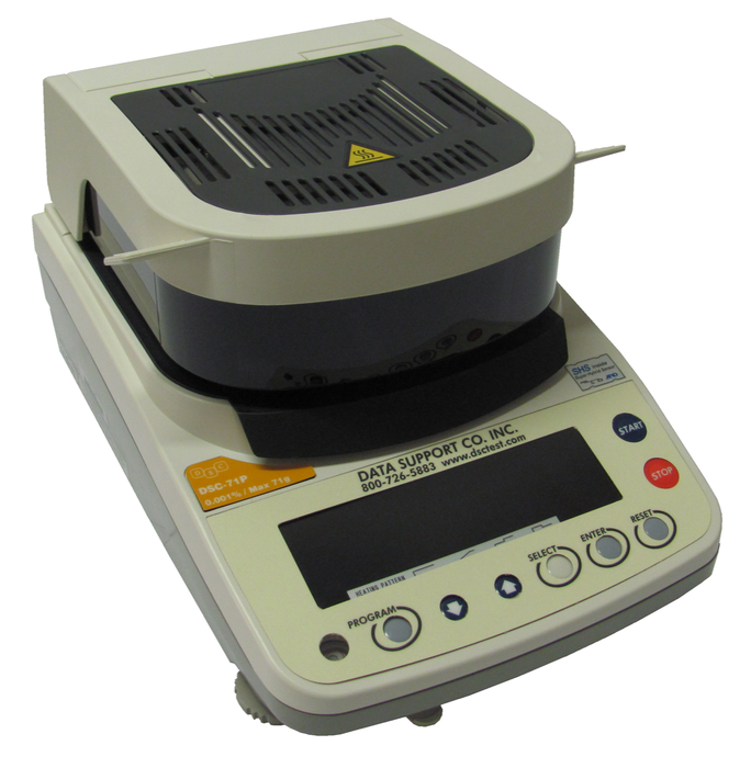 DSC-70™ Moisture Balance (Equivalent to AND MS-70 ), 70 g Capacity, 0.0001 g Readability