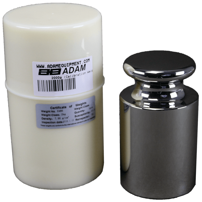 Adam Equipment ASTM 4 - 2000g ASTM Weights