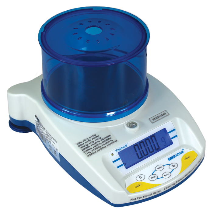 Adam Equipment HCB 103aM HighlandВ® Approved Portable Precision Balances, 100 g Capacity, g Readability