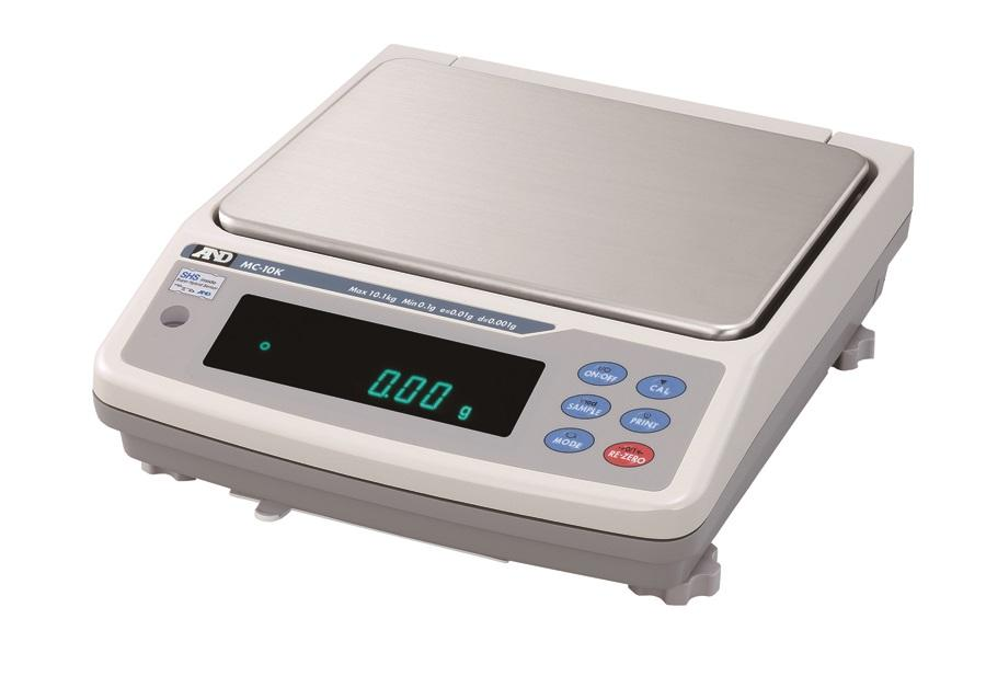 AND Weighing MC-10KS Manual Mass Comparator, 10100 g Capacity, 0.001 g Readability