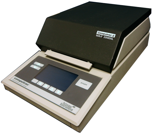 Used Arizona Instrument Computrac MAX 2000XL  Moisture Analyzer