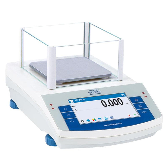 Radwag PS 1000.X2 Precision Scale, 1000 g Capacity, 0.001 g Readability