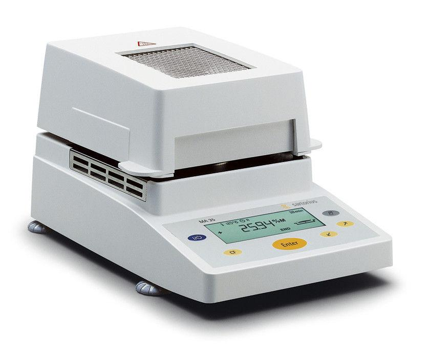 Sartorius MA35 Moisture Analyzer (Demo Unit), 35 g Capacity, 0.001 g Readability