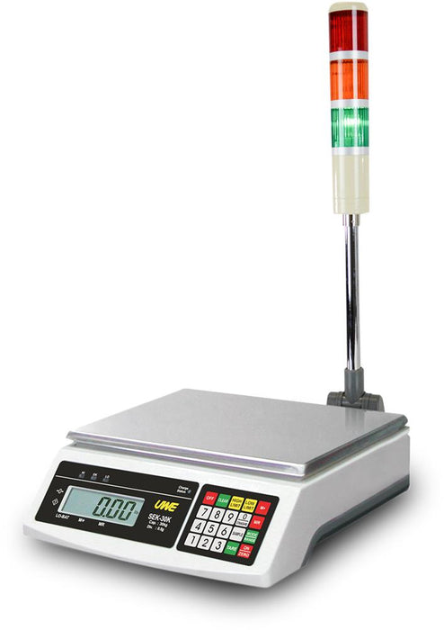 Intelligent Weighing SEK-30K HS Series Checkweighing, 30000 g Capacity, 0.5 g Readability
