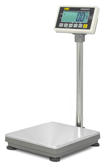 Intelligent Weighing UFM-B150 UFM Series Industrial Bench Scale, 150000 g Capacity, 50 g Readability