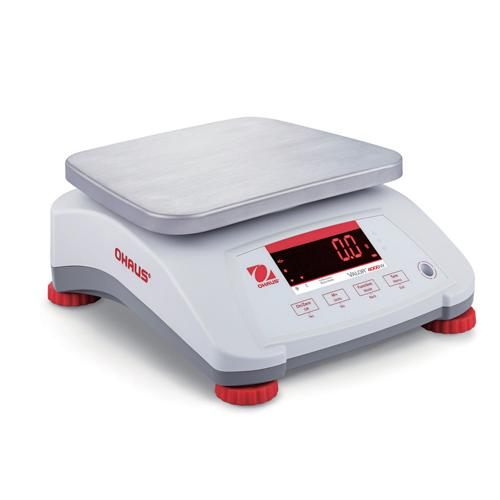 Ohaus V41PWE6T Valor 4000 Scale, 15000 g Capacity, 1 g Readability