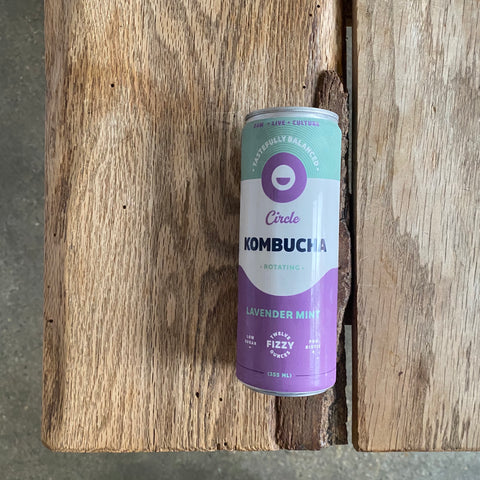 Circle Kombucha: Lavender Mint (Seasonal!)