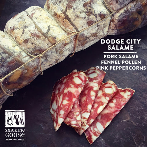 Dodge City Salame with Free Shipping