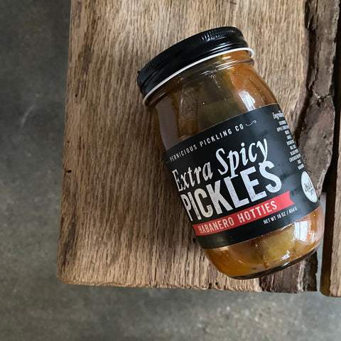 Habanero Hotties Extra Spicy Pickles