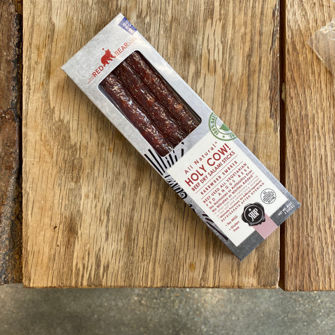 Holy Cow! Beef Dry Salami Snack Sticks
