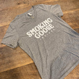 T-Shirt: Smoking Goose front, logo back