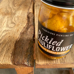 Curry Pickled Cauliflower: Large Jar