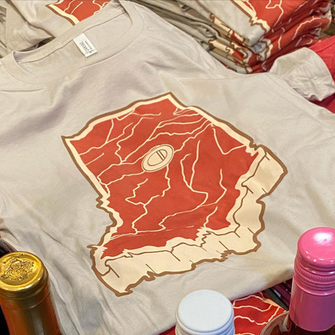 Indiana Meat Map T-Shirt