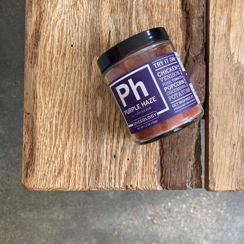 "Spiceology ""Purple Haze"" Spice Rub"