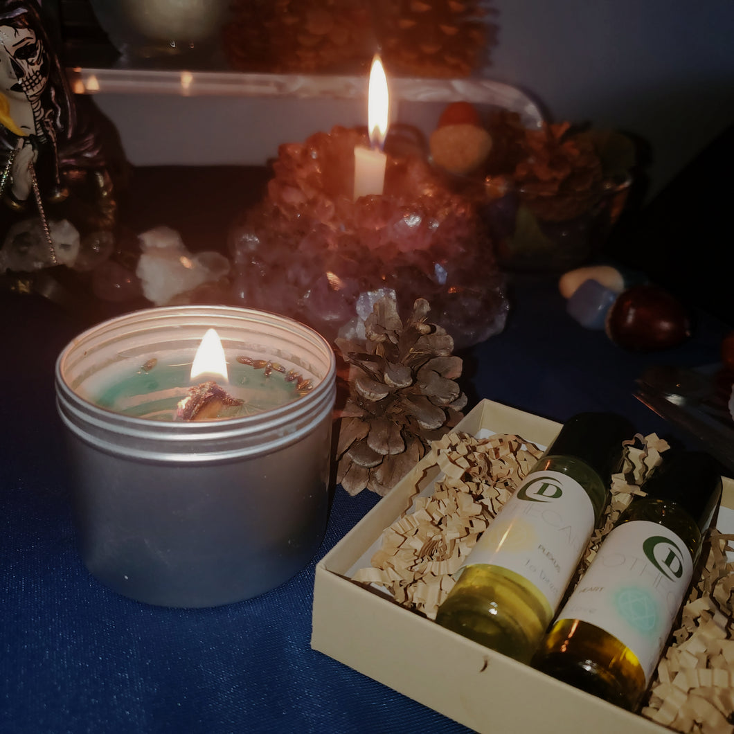 Anti-Anxety Candle & Roller Kit Bundle