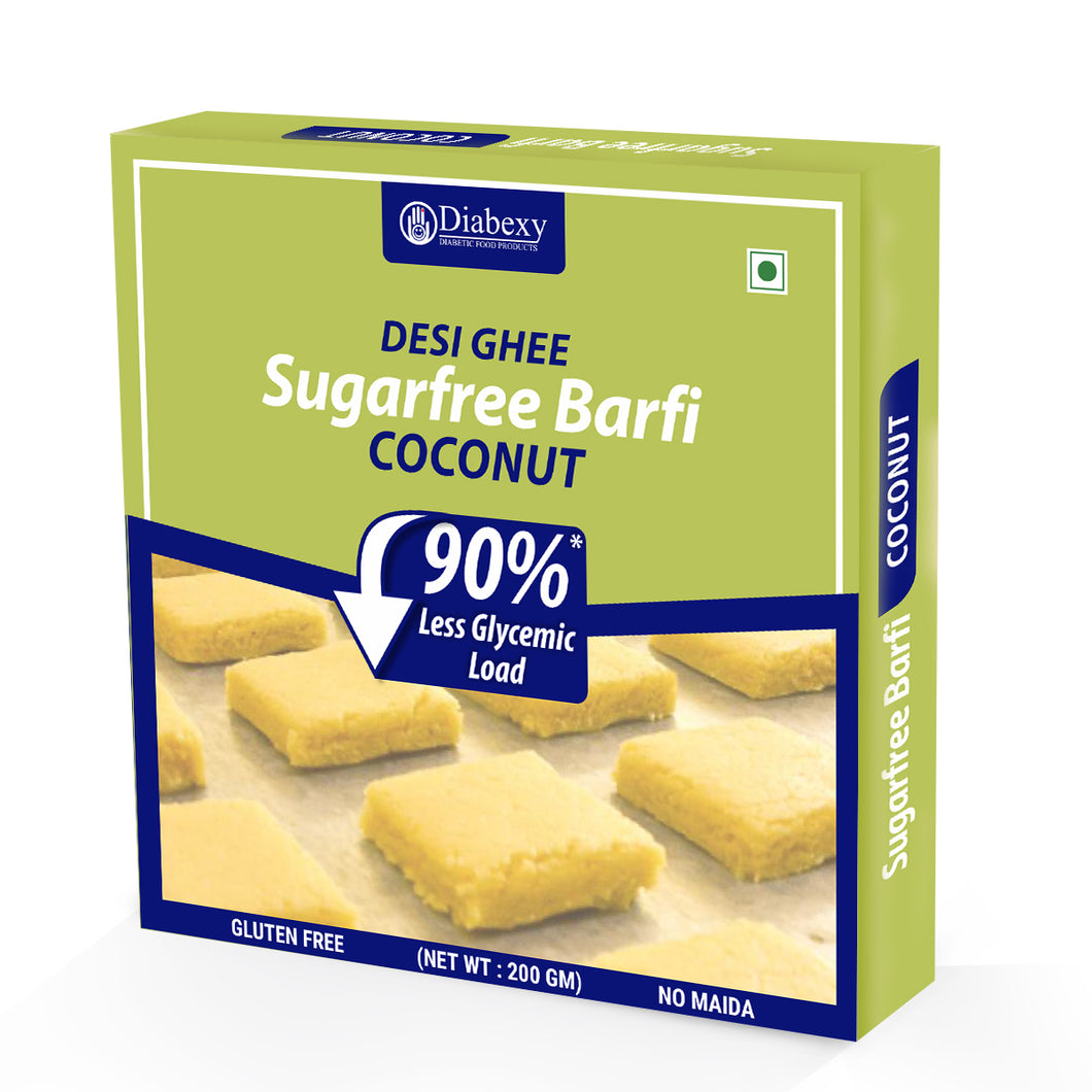 Coconut Barfi - Made in Pure Desi Ghee
