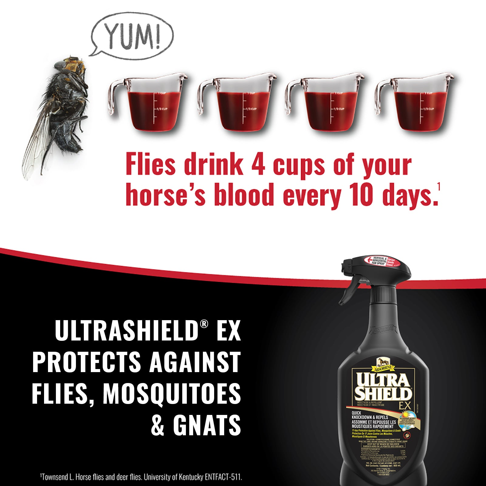 UltraShield® EX Insecticide & Repellent