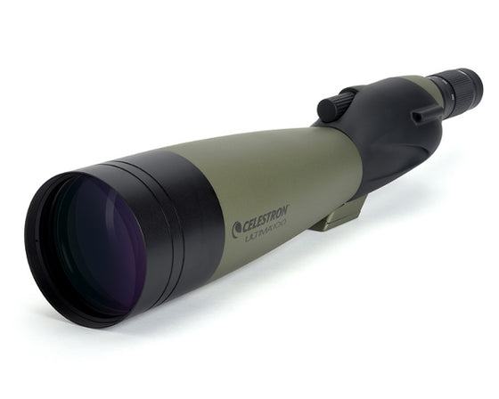 Celestron Ultima 100mm Straight Spotting Scope w/ 22-66x Zoom