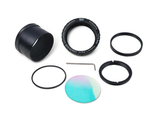 Baader Protective T-ring camera adapter with clear filter for Canon EOS EF