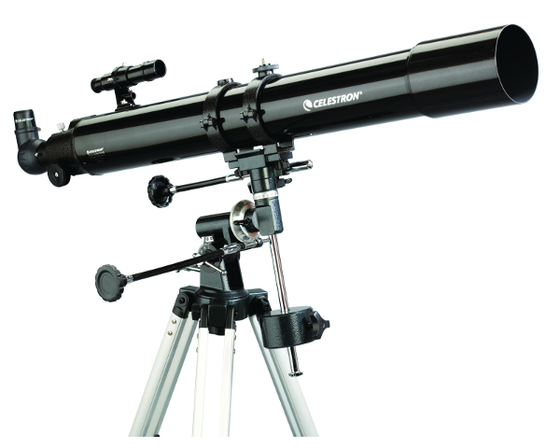 "Celestron Powerseeker 80mm (3.1"") Refractor Telescope on EQ1"