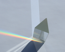 Glass Equilateral Prism 25X75mm