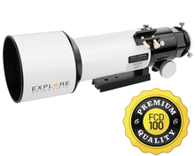 "Explore Scientific FCD100 80mm (3.1"") ED Triplet Apochromatic Refractor OTA"