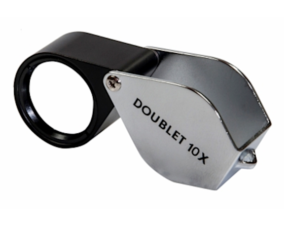 Kite Optics 10x Doublet Pocket Loupe