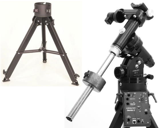 Losmandy GM8 Equatorial Mount with Tripod and Gemini 2 Computer Drive