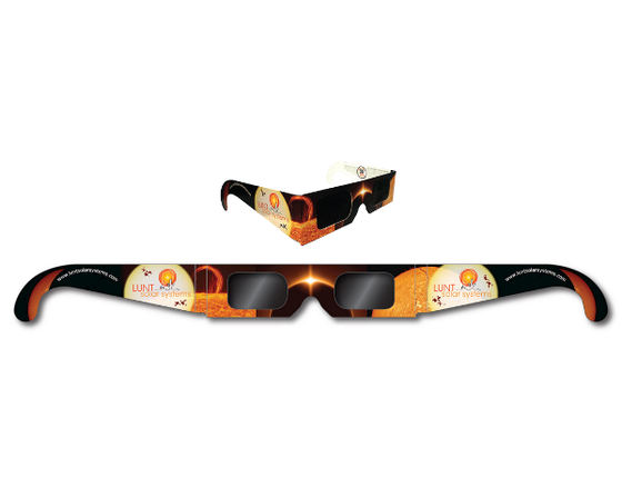 Lunt Solar Eclipse Glasses (1 Pair)