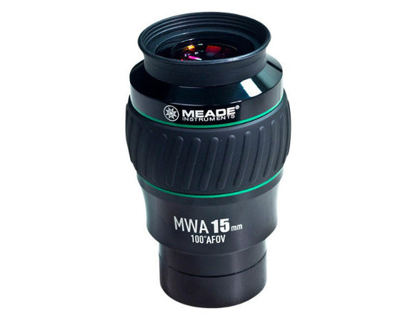 "Meade Series 5000 Mega Wide Angle 15mm 100° Eyepiece (2"")"