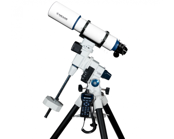 "Meade LX85 115mm (4.5"") f/7 APO Telescope on Equatorial Mount and Tripod"