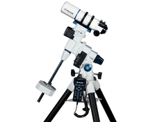 "Meade LX85 70mm (2.76"") f/5 APO Astrograph on Equatorial Mount and Tripod"