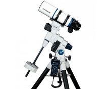 "Meade LX85 80mm (3.1"") f/6 APO Telescope on Equatorial Mount and Tripod"