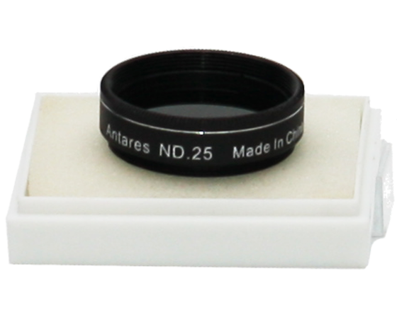 "Antares 25% Transmission Neutral Density Moon Filter (1.25"")"