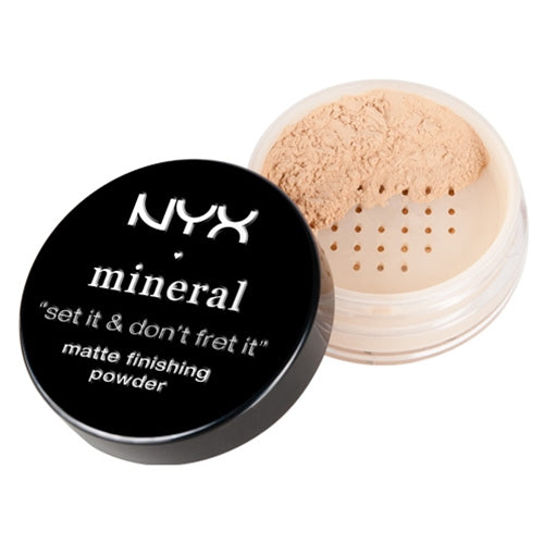 NYX MFP01 Mineral Matte Finishing Powder Light/Medium