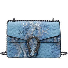 Load image into Gallery viewer, Snake Pattern Handbag