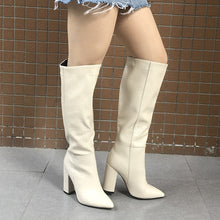 Load image into Gallery viewer, Valerie Designer Faux Leather High Boots