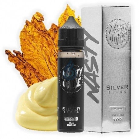 NASTY JUICE SILVER BLEND- 20ml Long Fill