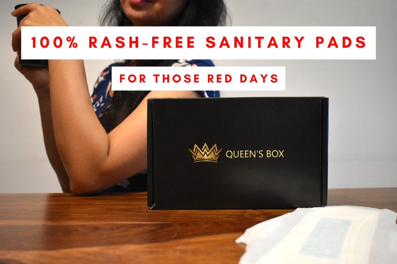 Queen's Box Combo Pack Of 60 Pads + 20 Panty Liners
