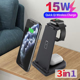 Load image into Gallery viewer, Wireless Charger & Charging Stand