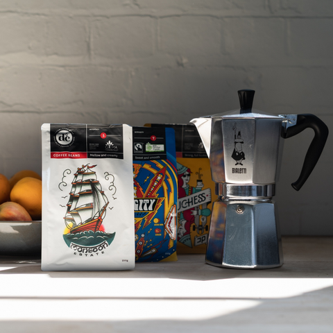 Stovetop coffee by DC Coffee