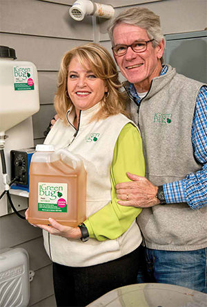 Greenbug owners Louise and Dan Hodges control pests