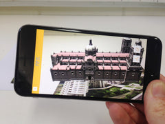 Augmented Reality AR Building