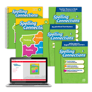 Spelling Connections © 2016 Grade 4 Classroom Package