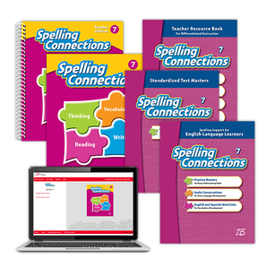 Spelling Connections © 2016 Grade 7 Classroom Package