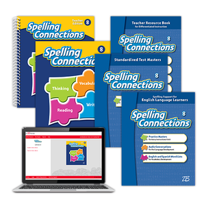 Spelling Connections © 2016 Grade 8 Classroom Package