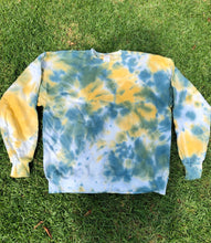 "Load image into Gallery viewer, YWS x FTP ""Malachite"" Tie Dye Crewneck"