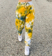 "Load image into Gallery viewer, YWS x FTP ""Malachite"" Tie Dye Joggers"