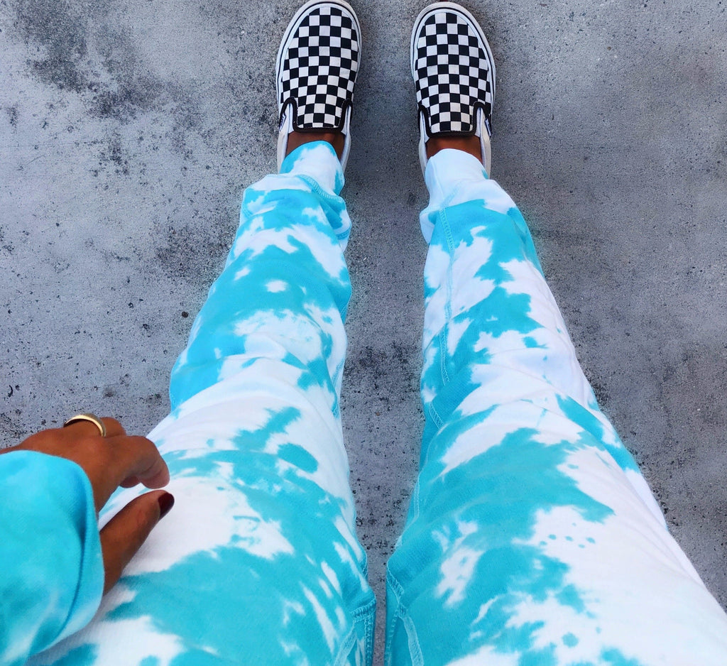 YWS X FTP Sky Is The Limit Tie Dye Joggers