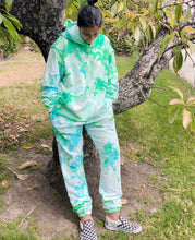 Load image into Gallery viewer, Key Lime Pie Tie Dye Joggers